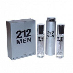 Аромат по мотивам  Carolina Herrera 212 Men edp 3*20 ml