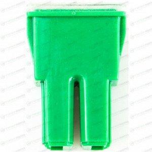 Предохранитель автомобильный Masuma, кассетный, мама (PAL FJ11), зелёный, 40А, 32В, комплект 12 шт, арт. FS-014 (стоимость за упаковку 12 шт)