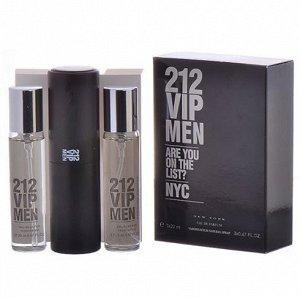 Аромат по мотивам  Carolina Herrera 212 Vip For Men edt 3*20 ml
