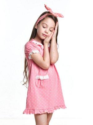 Платье(сорочка) (98-122см) UD 4271(2)розовый