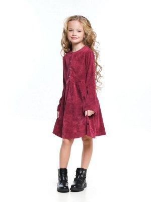 *Платье (122-146см) UD 7373(1)бордо