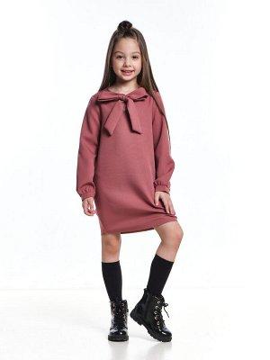 *Платье (98-122см) UD 7398(1)т.розов