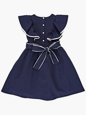 Платье (122-146см) UD 7403(1)т.синий