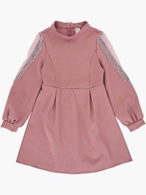 Платье (122-146см) UD 7416(1)т.розовый