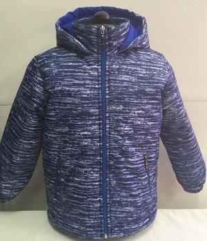 Куртка Ткань верха: мембрана Подкладка: флис на внутреннем воротнике,полочке и спинке. Рукава - подклад.ткань Утеплитель: синтепон 120 г/м2 Отделка: боковые карманы на замочках,внизу по бокам и на кап