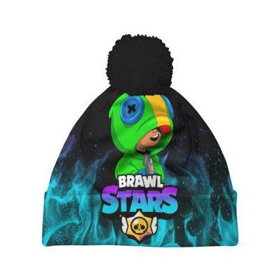 Одежда и аксы! Brawl Stars! Есть наличие — Шапки 3D c помпоном BRAWL STARS — Шапки