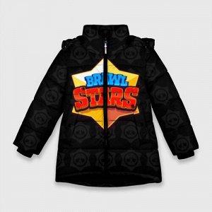 Зимняя куртка для девочек 3D «Brawl Stars 2»