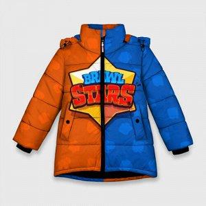Зимняя куртка для девочек 3D «Brawl Stars 3»