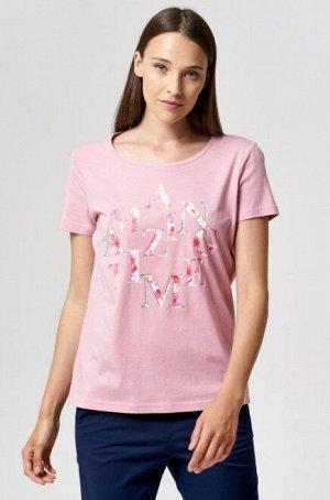 Женская футболка трикотажная