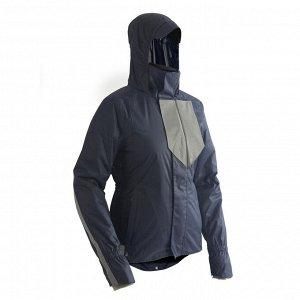 Куртка для велоспорта теплая водонепроницаемая женская 540 btwin