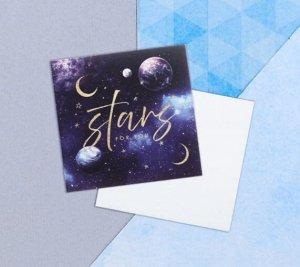 Открытка-мини Stars for you