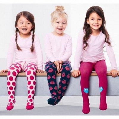 Колготки и носки детские большое поступление, яркие новинки!