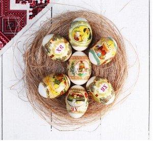 """Пленка Пасхальная термоусадочная плёнка """"Пасхальные традиции"""" на 7 яиц. Разрезать данную плёнку по отмеченным линиям перфорации, это значит отделить пленку на отрезки, в которые в последствии будем од"""