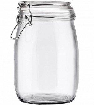 Банка Банка стекл круг 1000мл ТМ Appetite Объем, л./размер, см: 1000 мл Материал: термостойкое стекло Торговая марка: Appetite Тип упаковки: коллективная