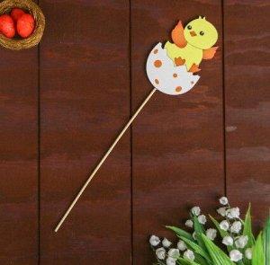 Декор на палочке «Цыплёнок»