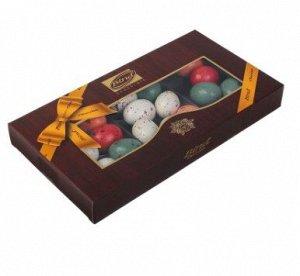 Шоколадные перепелиные яйца с марципаном