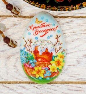 Магнит в форме яйца «Пасхальная композиция»