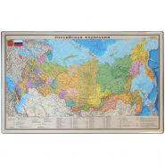 """Настольное покрытие OfficeSpace """"Карта РФ"""", 38*59см"""
