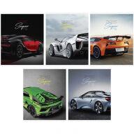 "Тетрадь 48л., А5, клетка ArtSpace ""Авто. Ultimate super cars"""