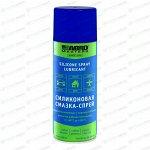 Смазка аэрозольная ABRO Masters Silicone Spray Lubticant, многоцелевая, силиконовая, водостойкая, баллон 400мл, арт. SL-400-AM-RE