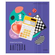 """Тетрадь предметная 48л. ArtSpace """"Калейдоскоп"""" - Алгебра, ВД-лак"""