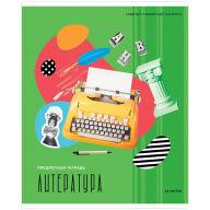 """Тетрадь предметная 48л. ArtSpace """"Калейдоскоп"""" - Литература, ВД-лак"""