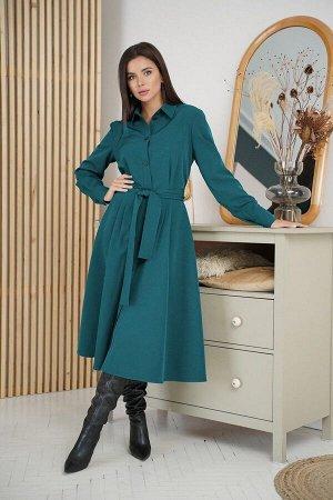 Платье LadisLine 1274 изумруд