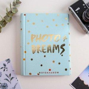 Фотоальбом Photo + Dreams. 10 магнитных листов