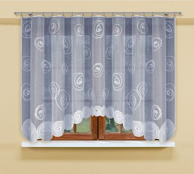 Польские шторы и скатерти. Качество! Стиль! Дизайн — ЗАНАВЕСКИ ЛЕГКИЕ КОРОТКИЕ — Тюль