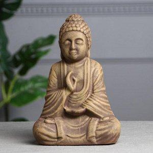 """Статуэтка """"Будда"""" под коричневый камень, 28 см"""