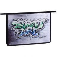 """Папка для тетрадей 1 отделение, А4, ArtSpace """"Street art"""", ламинированный картон, конгрев, фольга, н"""