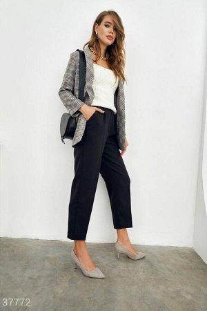 Классические брюки с защипами