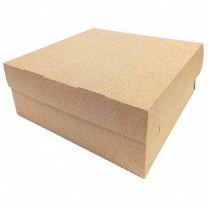 Коробка для кондитерских изделий 6000мл размер 255*255*105мм