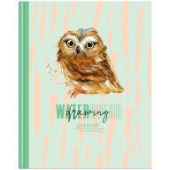 """Дневник 1-4 кл. 48л. ЛАЙТ """"Watercolor drawing"""", глянцевая ламинация"""
