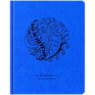 """Дневник для музыкальной школы 48л. (твердый) """"Music waver"""", иск.кожа, тон.бл, ляссе, фольга"""