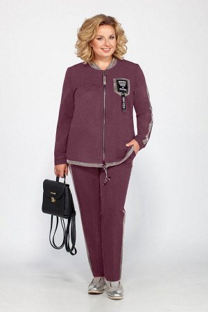 Блуза, брюки Bonna Image 455 слива