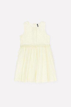 Платье(Весна-Лето)+girls (бледно-лимонный к279)
