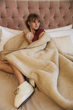 """Одеяло из овечьей шерсти """"Сахара"""""""