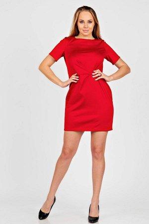 Платье П 253 (Красный)