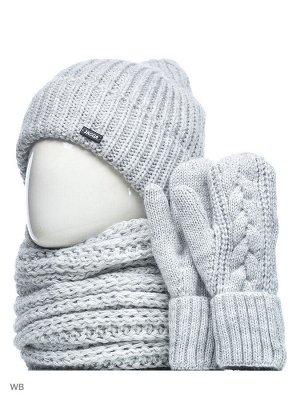 JAGGA /  Комплект Эмма с шарфом и варежками