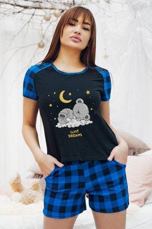 Пижама с шортами ПЖ 022 (Медвежонок)