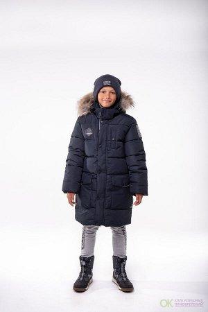 Пальто для мальчика  хаки