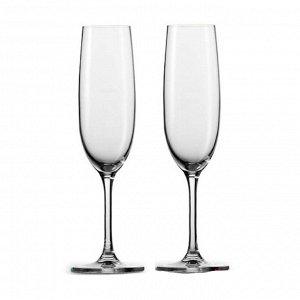Набор фужеров (бокалов) для шампанского ЭЛЕГАНС 2шт 170мл