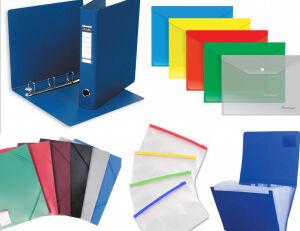 Рельефная канцелярия — готовимся к учебному году — Папки пластиковые, системы архивации