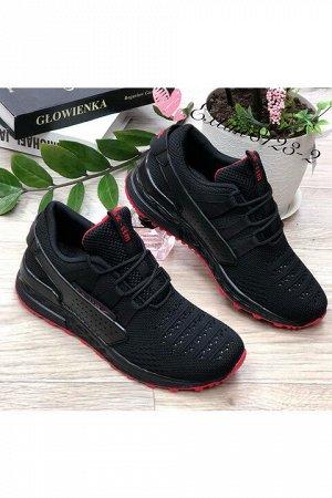 Женские кроссовки 8123-2 черные