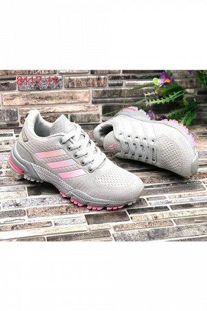 Женские кроссовки 8117-11 светло-серые