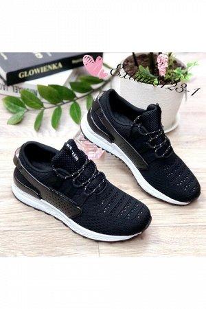 Женские кроссовки 8123-1 черные