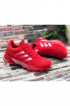 Женские кроссовки 8117-10 красные