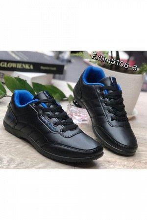 Женские кроссовки 5106-3 черные
