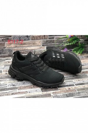 Женские кроссовки 8117-2 черные
